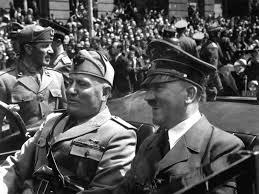 Benito Mussolini y Adolf Hitler, dos socialistas. /Foto: en.wikipedia.org.