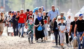 Inmigración musulmana invasiva. /Foto: Taringa.net.