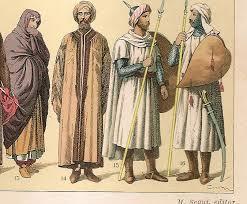 Las razias musulmanas eran anuales para conseguir esclavas. /Foto: miniaturasmilitaresalfonscanova.com.