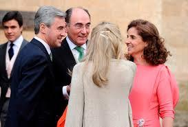 Ángel Acebes con Ignacio Sánchez Galán, presidente de Iberdrola. /Vozpopuli.com.