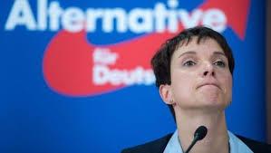 Frauke Petry, líder del ascendente Alternativa por Alemania. /Foto: noticiasdelainformacion.com.
