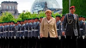 Ángela Merkel: ¿el enemigo está dentro? /Foto: actualidaddrt.com.