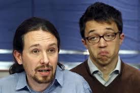 Pablo Iglesias e Iñigo Errejón, dos representantes de la inteligencia media. /Foto: 20minutos.es.