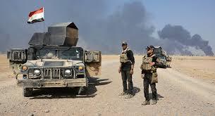 Tropas iraquíes liberadoras de Al Qayara. /Foto: mundo.sputniknews.com.