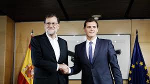 Mariano Rajoy y Albert Rivera, aliados y enemigos. /Foto: lavanguardia.com.