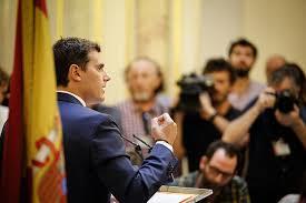 Albert Rivera, primer plano mediático. /Foto: lavozlibre.com.