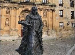 Estatua de Garci Fernández. /Foto: condadodecastilla.com.