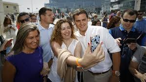 Albert Rivera en campaña. /Foto: lavozdegalicia.es.