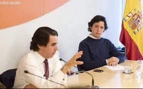 Aznar y el pequeño Nicolás, tal para cual. /Foto: zoonews.es.