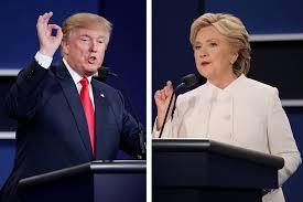 Tercer y último debate. Foto: wsj.com.