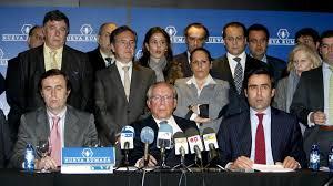 José María Ruiz Mateos y sus hijos. /Foto: elconfidencial.com.