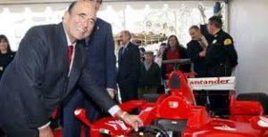 Emilio Botín, pasión por la fórmula 1, quería casarse. /Foto: cotilleando.com.