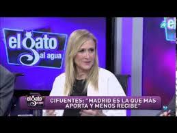 Cristina Cifuentes, musa de Ariza en Intereconomía. /Foto: YouTube.com.