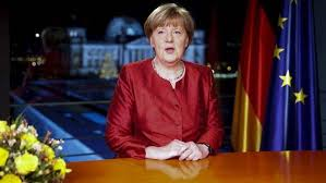 Ángela Merkel. /Foto: clarin .com.