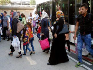 Musulmanes llegados a vivir del contribuyente. /Foto: interior.gob.es