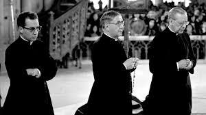Monseñor Javier Echevarría, San Josemaría Escrivá de Balaguer y San Álvaro del Portillo. /Foto: uncatolico.com.