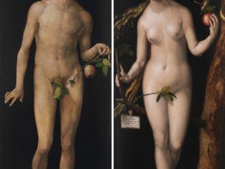 Adán y Eva, pinturas de Durero.