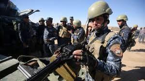 Soldados iraquíes. /Foto: BBC.com.