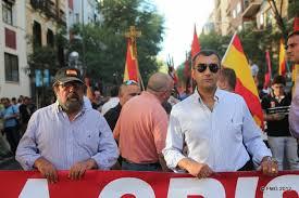 Manifestación patriótica en Madrid. /Foto: Xavier-rius.blogspot.com.