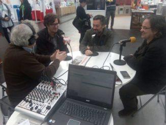 Pablo Barrón con Xulio Ferreiro, alcalde de La Coruña. /Foto: ramblalibre.com.