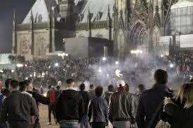 Nochevieja del año pasado en Colonia. /Foto: elperiodico.com.