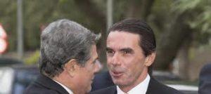 Federico Trillo con José María Aznar. /Foto: vanitatis.elcofidencial.com.