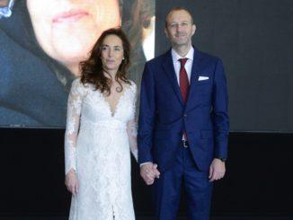 Carolina Punset y Alexis Marí, recién casados.