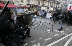 Imagen de disturbios en París. /Foto: 20minutos.es.