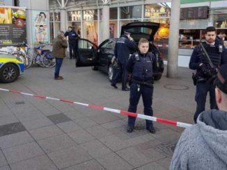 La Policía, acordonando la zona. /Foto: publico.es.