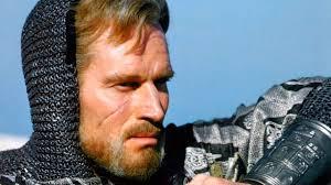 El gran Charlon Heston, en el magistral El Cid. /Foto: arterural.com.