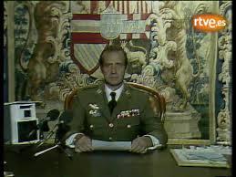 Juan Carlos habló, cuando ya había fracasado Armada. /Foto: RTVE.es.