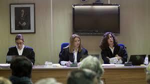 Las tres juezas del caso Nóos. /Foto: elconfidencial.com.