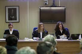 Las tres juezas de la vergonzosa sentencia. /Foto: elmundo.es.