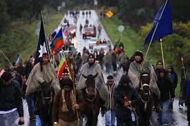 Mapuches. /Foto: radio.uchile.cl.