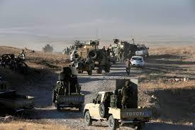 Tropas participantes en la liberación de Mosul. /Foto: elconfidencial.com.