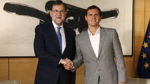 Mariano Rajoy y Albert Rivera, desgastados. /Foto: lavanguardia.com.