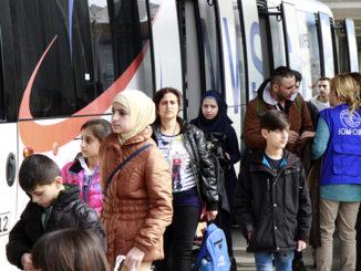 Presuntos refugiados. /Foto: ramblalibre.com.