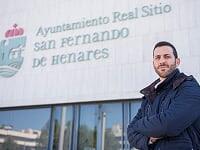Sandro Algara, concejal de San Fernando de Henares. /Foto: ramblalibre.com.