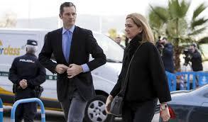 Iñaki Urdangarín y Cristina de Borbón. /Foto: elpais.com.