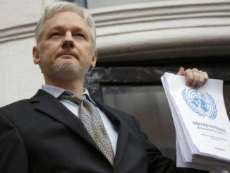 Julian Assange. /Foto: elpais.com.