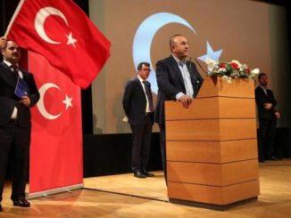 El ministro de Exteriores turco. /Foto: publico.es.