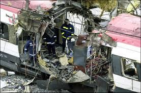 Uno de los vagones de la matanza de Atocha. /Foto: huffingtonpost.es.