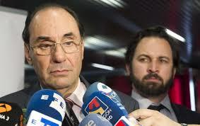 Alejo Vidal-Quadras y Santiago Abascal. /Foto: elconfidencial.com.